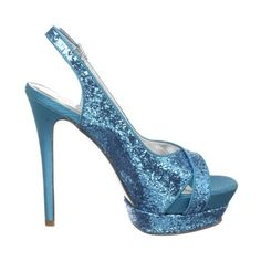 Lauren Jones Women's Violet Slingback Sandal ($23) ❤ liked on Polyvore featuring shoes, sandals, heels, high heel slingbacks, sexy sandals, evening sandals, sexy high heel sandals and high heel platform sandals