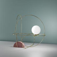 Image result for SETAREH table lamp by Francesco Librizzi for Fontana Arte.