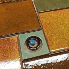 Handmade tile Large Mod Mosaics from Mercury Mosaics Workshop