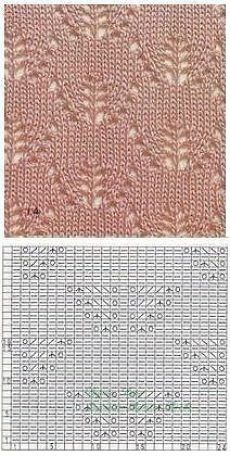 Stricken - All Hair Styles Lace Knitting Stitches, Knitting Machine Patterns, Lace Knitting Patterns, Knitting Charts, Lace Patterns, Baby Knitting, Stitch Patterns, Knitting Tutorials, Vintage Knitting