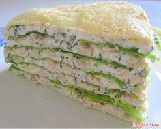 Белковый торт с куриной грудкой для сушки! Идеальный ужин для стройнеющих после праздников) Потребуется: 10 белков, 2 желтка, 1 куриная грудка, 200 г нежирного творога,