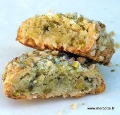 Biscuits Amande-Pistache-Cardamome (sans Beurre/Gluten)