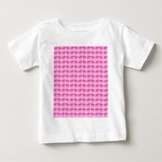 #Tiny Pink Triceratops Print Baby T-Shirt - #dino #shirts