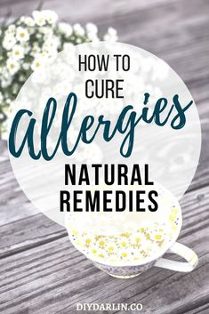 Natural Remedies For Chest Congestion How to Cure Allergies: Surprising and Natural Allergy Remedies That Work Cure For Allergies, Home Remedies For Allergies, Seasonal Allergies, Local Honey For Allergies, Asthma Relief, Congestion Relief, Young Living, Allergy Remedies For Kids, Chest Congestion Remedies