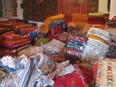 la fabrique de tapis de l'Association des femmes Berbères