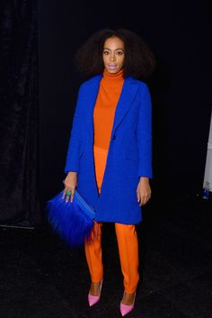 3. Solange Knowles At The Milly By Michelle Smith Fall 2014 Show In New York City | The Most Fab And Drab Celebrity Outfits Of The Week