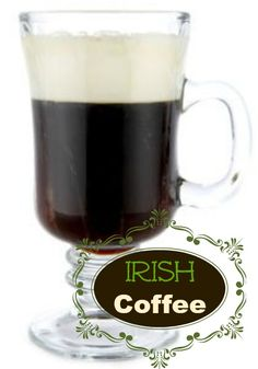 Irish Coffee Recipe | whatscookingamerica.net | #irish #coffee #whiskey #cocktail