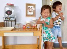 Three Minute Montessori - drink and snack station for Montessori toddler