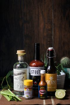 Curious to know what kind of concoction we were mixing up here? Check out our website to find out! Featuring ingredients from @lacrossedistillingco @arizekombucha and @elyucateco_hotsauce 🔥😋👍   #cocktail #cocktails #DIY #eeeeeats #forkyeah #yum #yummy #tasty #delicious #eatfamous #blogger #instagood #brunch #brunchgoals #brunchin #photooftheday #instadaily #drinkstout #stout #mixology #bartending Gherkin Pickle, Fresh Horseradish, Probiotic Drinks, Bloody Mary Recipes, Lemon Pepper, Kombucha, Spice Things Up, Vodka, How To Find Out