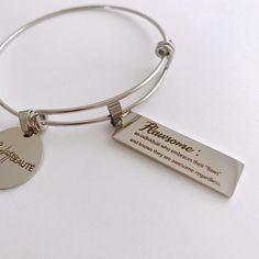 Handmade Accessories, Stainless Steel Bracelet, Flaws