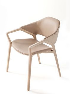 """Ico Chair New colors at Cassina: """"Ico Chair"""" by French designer Ito Morabito is now also available in taupe. Dining Room Chairs, Dining Furniture, Cool Furniture, Modern Furniture, Furniture Design, Wood Chairs, Swing Chairs, Eames Chairs, Metal Chairs"""