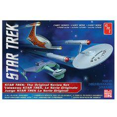 Star Trek TOS Cadet Series Ship 1:2500 Scale Model Kit Set