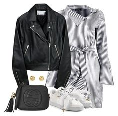 """""""Untitled #5073"""" by theeuropeancloset on Polyvore featuring Boohoo, Puma and Gucci"""