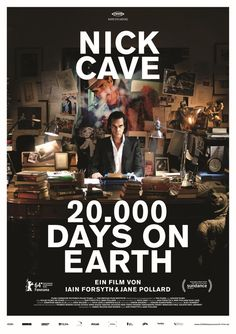 20,000 Days On Earth (2014) by Iain Forsytha and Jane Pollard at Ponrepo