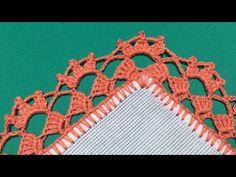 🧵PUNTILLA 117✨ORILLA TEJIDA DE VUELTA Y VUELTA - YouTube Crochet Boarders, Crochet Edging Patterns, Crochet Decoration, Fringes, Tassels, How To Make, Crochet Round, Crochet Bow Ties, Cross Stitch Bird