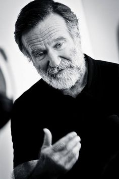 Robin Williams... gone too soon. RIP...