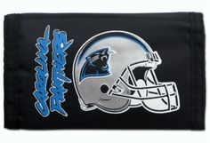 Check out our authentic collection of fan gears, souvenirs, memorabilia. Support the team you love! Free shipping for orders $99+  We are family owned business based in Washington state.   Check this link for more info:-https://www.indianmarketplace.net/carolina-panthers-nylon-trifold-wallet/ #NFL #MLB #NBA #NCAA #NHL#CarolinaPanthers