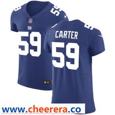 cb1d5945 Men's New York Giants #59 Lorenzo Carter Royal Blue Team Color Stitched  Vapor Untouchable Elite