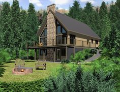 The Chinook - Prefab Cabin and Cottage Plans   Winton Homes