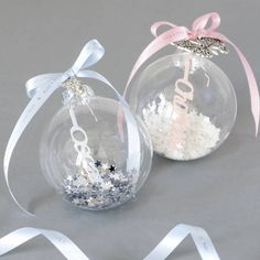 I've just found Personalised Papercut Baby's First Christmas Bauble. A beautiful personalised papercut Christmas glass bauble with a pretty charm and ribbon bow. Perfect to celebrate Baby's First Christmas!. £21.95