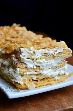 Napoleon Cake 1 from willcookforsmiles.com #cake