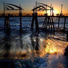 #Sunset at the Redondo Pier in Redondo Beach, CA www.visitredondo.com