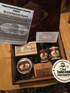 Another custom Beard Care Cigar box going out to a customer today. Get yours at www.pugilistbrand.com