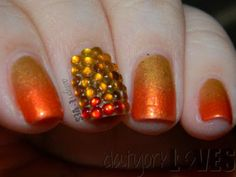 datyorkLOVES: FALLing for Gradient Nails