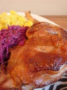 Kiskonyhám ízei: Sült libacomb Chicken Recipes, Steak, French Toast, Pork, Food And Drink, Favorite Recipes, Meals, Dishes, Breakfast