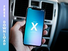 iPhone X Mockup. Great looking new Mockup of an iPhone X. Thanks to Miguel Miranda for this one. Ready to download.