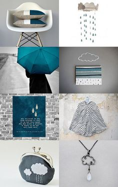 and, cuz we allll know I love my #clouds!!! #blue #RainClouds #white #whiteclouds #decor #fall2013 #raindrops #water #EtsyTreasury #EtsyShops #EtsyStyle #EtsyDecor @Etsy  --Pinned with TreasuryPin.com