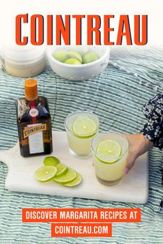 Spring Cocktails, Refreshing Cocktails, Fun Cocktails, Summer Drinks, Fun Drinks, Cocktail Recipes, Margarita Recipe Cointreau, Cointreau Cocktails, Margarita Recipes
