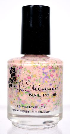 KBShimmer 'To Peach His Own' from the Spring 2015 Collection