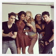 Vampire Diaries Cast at 2013 ComicCon
