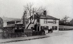 The Old George, Garforth, Leeds (Before Leeds Pubs, Derelict Places, West Yorkshire, Local History, Old Pictures, United Kingdom, Past, Places To Go, Old Things