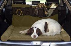 large travel bolster pet bed