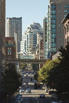 Downtown Seattle - Drove these streets for Seattle City Transit the 6 years I spent at the University of Washington  - 1959 to 1965