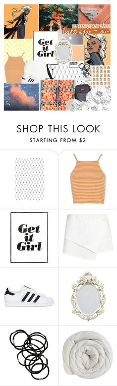 """""""&; THIS ONE FOR ALL MY GIRLS, MY GIRLS WHO WOMAN UP!"""" by h-awkeye ❤ liked on Polyvore featuring Nicole Miller, Topshop, Boohoo, adidas Originals, Hasbro, Samsung, Monki and American Apparel"""