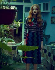 Madison Stubbington by Sanchez & Mongiello for Harper's Bazaar Germany June/July 2016