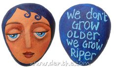Painted #rocks by #denthe