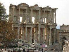 Celsus Library, Efeso, Turkey