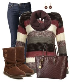 """Skechers Boots"" by daiscat ❤ liked on Polyvore featuring Hudson Jeans, ONLY, Skechers, Lauren Ralph Lauren and Arik Kastan"