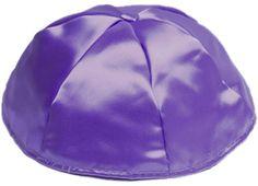 purple kippot