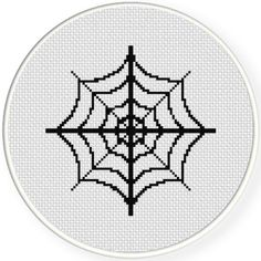 FREE for September 1st 2015 Only - Spider Web Cross Stitch Pattern