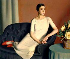 Marguerite Kelsey, 1928 // by Meredith Frampton