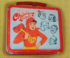 El Chapaulin Colorado (?) Spanish TV show lunch box