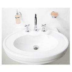 Sorento White Ceramic Wall Hung Basin (3 tap hole) £149.00