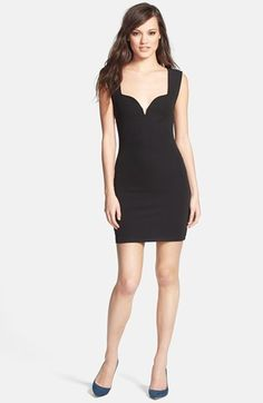MINKPINK Ponte Knit Body-Con Dress available at #Nordstrom