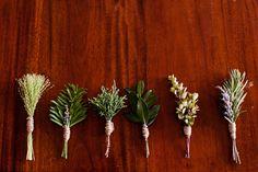 men's buttonholes diy herbs - Google Search