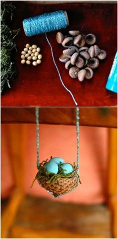 25 cute DIY fairy furniture and accessories for an enchanting fairy garden . - 25 cute DIY fairy furniture and accessories for an enchanting fairy garden # charming - Fairy Furniture, House Furniture, Furniture Ideas, Furniture Design, Furniture Dolly, Furniture Removal, Fairy Crafts, Garden Crafts, Garden Ideas